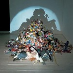 Tim Noble and Sue Webster shadow art