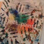 wet paint bag