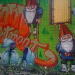 gnomes NYC street art