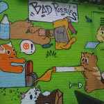 Bad pussies NYC street art