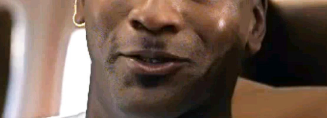 Michael Jordan Hitler Mustache
