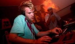 Rusko DJing