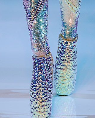 Flashy Footwear By Alexander McQueen