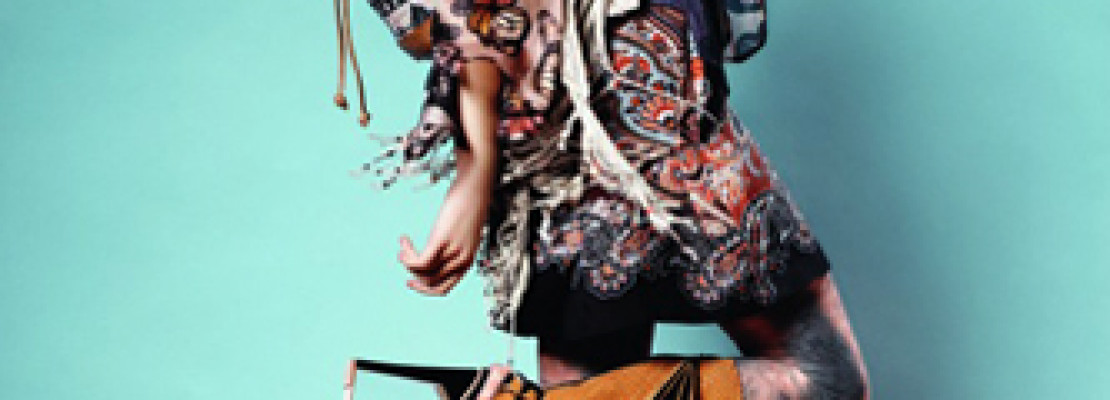 Topshop In Spring 2011: An Eccentric Pattern Trip