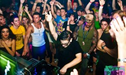 Skrillex at the Vault in Gainesville, Fla.