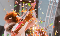Flaming Lips at hangout 2011