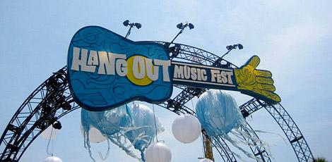 Hangout Festival 2011 entrance