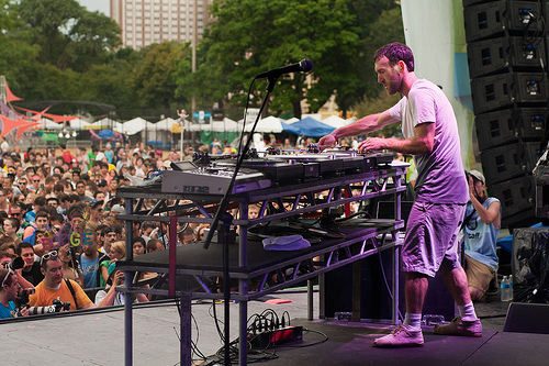RJD2 with Break Science at North Coast Festival 2011