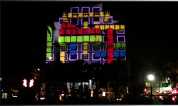 3D-cember at Art Basel presented by Pearl Media and Hyundai at the Tides Hotel, Miami.