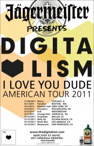 I Love You Bro tour flyer