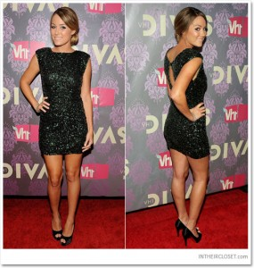 Lauren Conrad Alice Olivia Sequin Dress