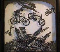 Flight of the Bikes Kathryn Carr
