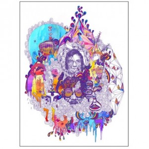 Portugal. The Man Lithograph