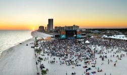 Hangout Music Festival on the beach of Gulf Shores, Alabama