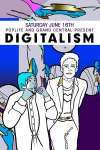 Digitalism at Grand Central Miami flyer