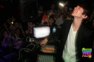 Madeon in Gainesville, photo by: Jake Pierce