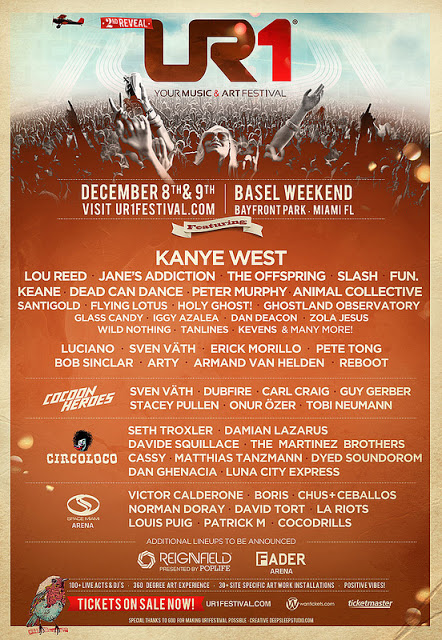 UR1 Phase 2 Lineup