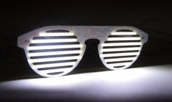 Bright Eyes LED Glasses Block The Haters and Bring the Party