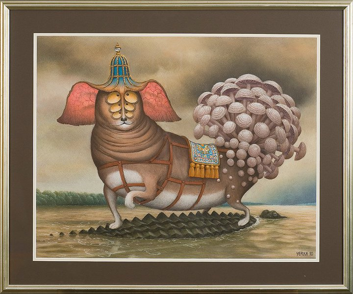 Upcoming fashion trends 2017 - Jacek Yerka Azor S Journey Fresh Wet Paint