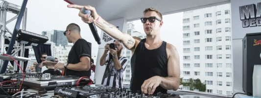 Mad Decent at Red Bull Guest House 2014